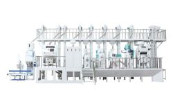 完全自動 1tph-1000tpd 米工場ミニライスフライス盤 割引