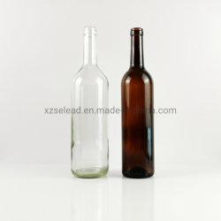 زجاجة نبيذ Claret Glass سعة 750 مل مع نبيذ أحمر جاف