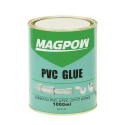 파이프 피팅 용접용 PVC 글루 시멘트 1000ml(브러시 포함