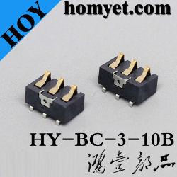 China Fabricante do pino 3 do conector da bateria para a câmara