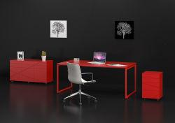 革新的なデザインLedk1001-12のOwinのオフィス・コンピュータの赤い机