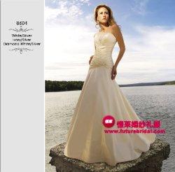 Robe de mariée 2009 nouveau style (8601)