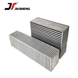 Паяные алюминиевая пластина Customzied Fin сердцевины охладителя масла воздушного компрессора