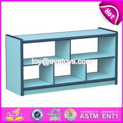 Personnaliser les enfants de petite étagère en bois coloré W08C192