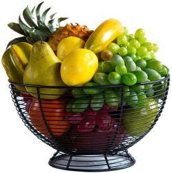 All in One Household fruit Plate Simple fruit Bowl Kitchen Opslag afvoer Basket snacks gedroogd fruit opslag rek fruit Mand Zilveren fruitschaal