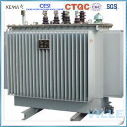 Трехфазный блок распределения питания Oil-Immersed Тип Полностью герметичный трансформатор питания