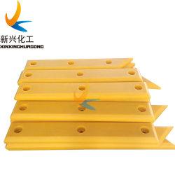 Plástico de polietileno UHMWPE hacia notas marinas del panel del guardabarros de plástico