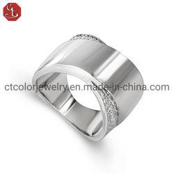 Bijoux Fahion 925 Sterling Silver bague de mariage d'engagement pour l'homme