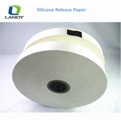 Fabricante de silicona de Materias Primas de liberación de un lado el papel de toalla sanitaria Panty camisa
