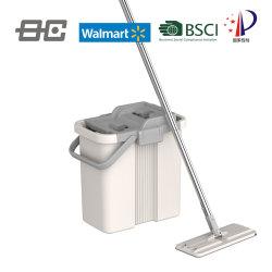 Nettoyer le système de nettoyage verticale en microfibre Mop Mop Squeeze Mop Ensemble benne-de-chaussée Mop Produits de cuisine