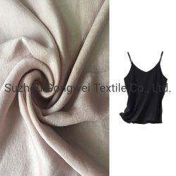 Le tissu de polyester velours 50d mousseline de soie Satin phlyctènes Mesdames pyjamas