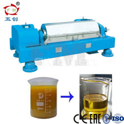 2 Horizontal fase e fase 3 Decantador de espiral Slop centrífuga do separador de óleo