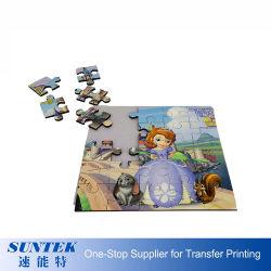 Square Puzzle, de sublimación sublimación en blanco MDF Puzzle Jigsaw juego de puzzle en blanco, de madera 25pcs