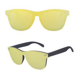 Handmade 색안경 남자는 Eyewear 여자 미러 Vintage Oculos De Sol Masculino UV400에 의하여 극화된 렌즈를 극화했다