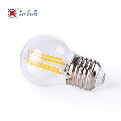중국 공급업체 G45 LED 필라멘트 전구 E27 LED 전구 조명 4W LED 전구 램프