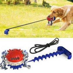 Remolcador en el exterior de la guerra de enganche de bola de juguete multifuncional útil herramienta de formación para el Pet Juguetes