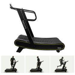 Deportes Self-Powered Treadmill Runner aire curvadas para el hogar y uso del gimnasio para Sprint máquina de correr
