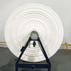 100% algodão sarjado 40 Fios Branco Greige Cinza roupa largas de tecido para tecido de malha