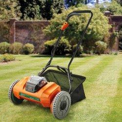 新しい 40V リチウムイオン / バッテリ / コードレスシリンダリール芝刈機ガーデンパワーツール