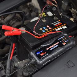 شاحن بطارية ذكي تلقائي بجهد 12 فولت/4 أمبير لحمض الرصاص 6 فولت/12 فولت (STD، أو جل، أو AGM)