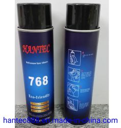 Grande área de cobertura Stickness adesivo spray/Spray cola para materiais leves
