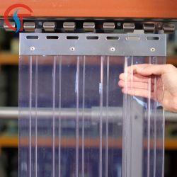ستارة باب من الفينيل بلاستيك مزدوج المضلع من مادة PVC