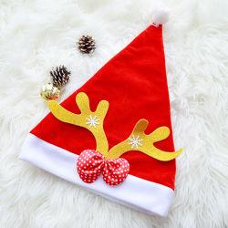 El color rojo traje de Navidad Santa Claus el sombrero la tapa para la Fiesta de Navidad de uso