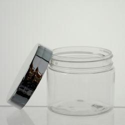 وعاء بلاستيكي سعة 80 مل مصنوع من البلاستيك الحيوانات الأليفة، أواني بلاستيكية مع غطاء للعناية الشخصية محكمة التجميلية