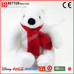 Kerstaanbieding Geschenk Polar Beer Met Sjaal Stuffed Animal Pluche Soft Toys