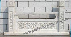 حجارة رخاميّة صوّان عمود درابزين درابزين لأنّ درجة درابزون ([لغ015])