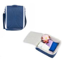 2in 1 휴대용 접히는 아기 미라 부대 여행 침대 큰 슬리핑백