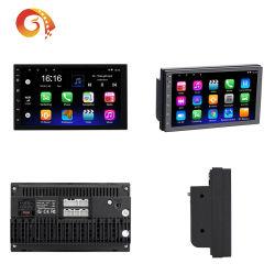 Android 9.1 sistema universal de la Radio 2 DIN de 7 pulgadas Reproductor de coche navegación GPS, Bluetooth WiFi espejo FM Link Cámara trasera