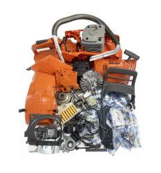 Complete as peças de reparação Husqvarna 365 362 371 372 372XP motor no cárter do motor de pistão do cilindro motosserra do Virabrequim