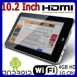 "10.2 "" Epad ZT180 TabletteAndroid 2.2 512MB 4GB 1GHz"