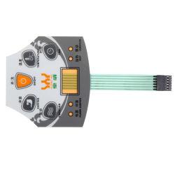LED ディジットディスプレイコントロールパネル、 PCB/PET/FPC メンブレンスイッチ付き