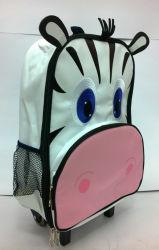 Crianças Cartoon Pre-School Animal Mochila Trolley