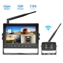 2,4 GHz 720p 7-inch draadloze Rearview-monitor voor achteruitrijcamera Camera voor omkeerhulp van buswagens