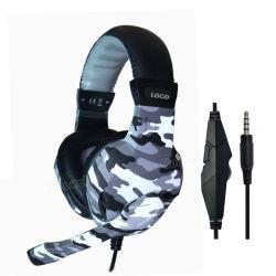 Meilleur casque de jeu de couleurs de camouflage pour PS4 xBox un (C66 camo)