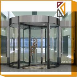 Porta girevole di vetro automatica con sicurezza del sensore di presenza