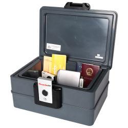Scatola di plastica resistente al fuoco dell'ABS A4 per la conservazione della sicurezza del documento