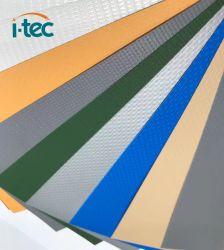 Wasserdichte blaue PVC-Plane für die Abdeckung der Gebäude und Schwimmen Pool