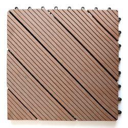 Estável UV Anti-Insect Anti-Termite Engineered DIY do intertravamento WPC mosaico do deck de encaixe