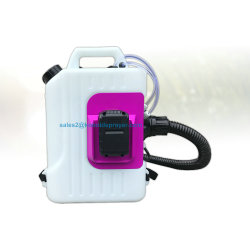 10L operado a bateria Ulv de desinfecção mochila Névoa de insuflação de ar de Nevoeiro Pulverizador da Máquina