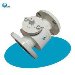 API 6D Acero al Carbono Forjado Acero Inoxidable Válvula de Bola Montada sobre Bridas y Flotador con Brida Segura contra Incendios
