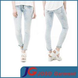 Дамы Голубой деним Skinny джинсы (JC1390)