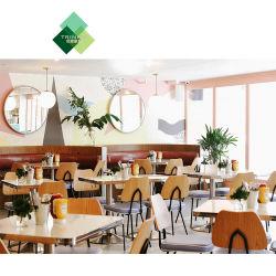Modernos muebles de madera de personalización para el restaurante del hotel Comedor Bar Cafe