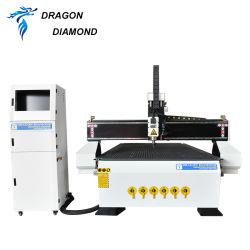 Patrulla automática de contrachapado de madera de 3D de CNC Máquina de grabado con cámara CCD