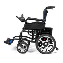 Discapacitados en silla de ruedas eléctrica Relcining