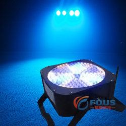 198-10mm Wireless Battery LED PAR 64/LED Flat PAR/Wedding PAR (FS-P5008)