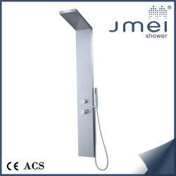 Niquel cepillado Panel de ducha con un diseño clásico para el mercado europeo (XH-022)